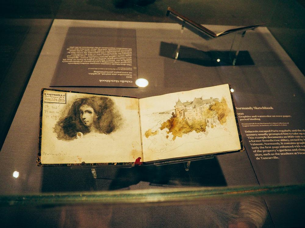 Delacroix sketchbooks