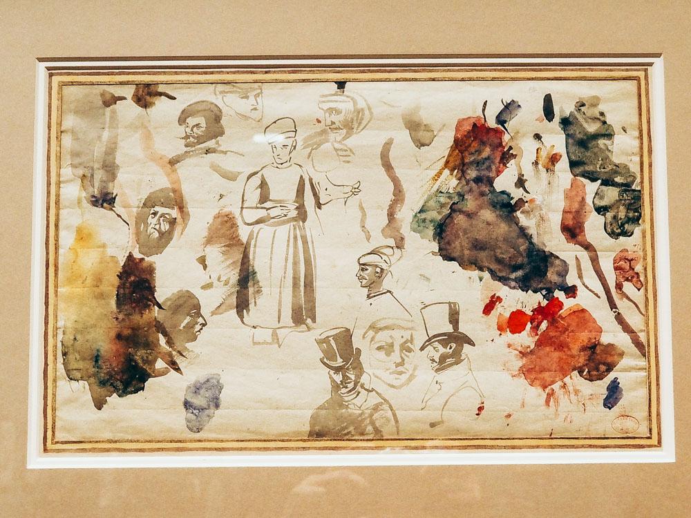 Delacroix paint