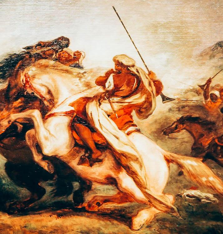 Delacroix at The Met