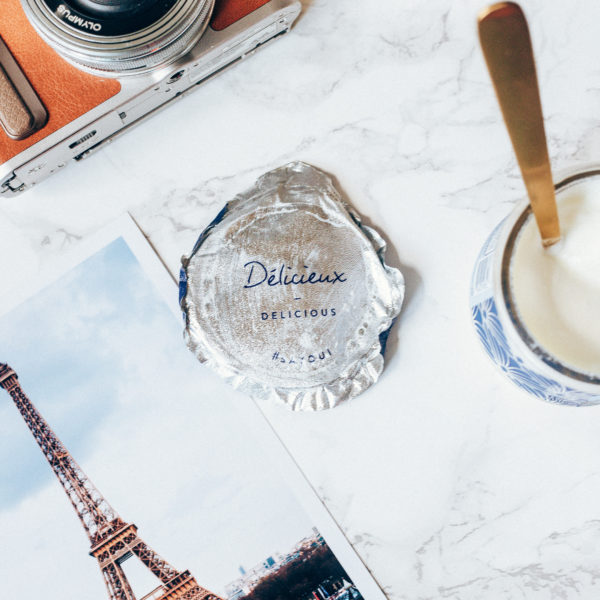 French yogurt and photo prints