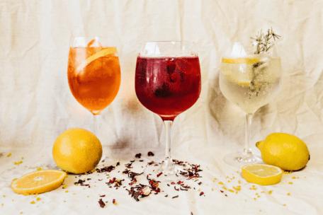 Fruity wine flavors
