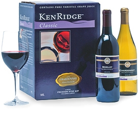 KenRidge Classic With Wine Bottle Labels