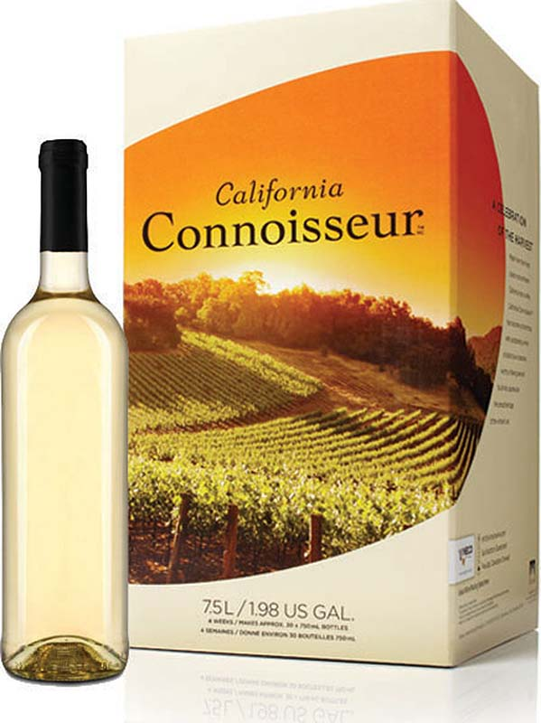 California Connoisseur With White Wine