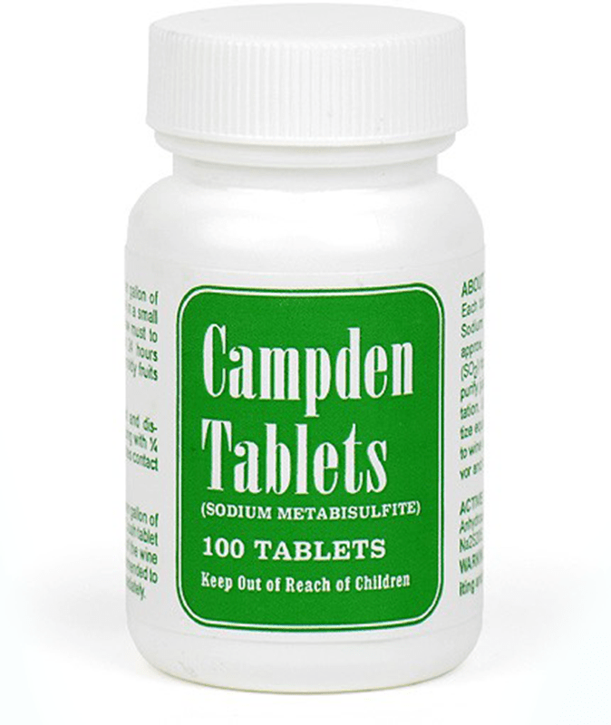 Campden Tablets In Jar