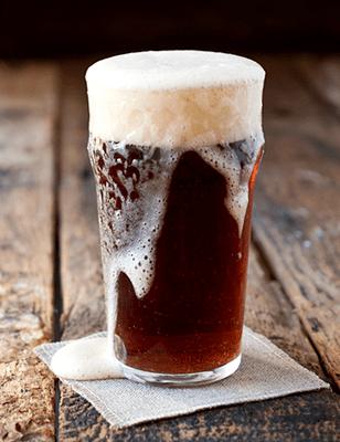 High Gravity Beer Over Flowing