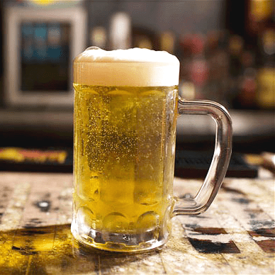 Home Brewed Lager Beer