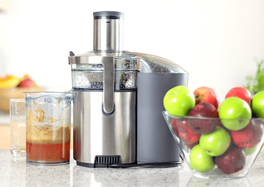 Juicer With Apples