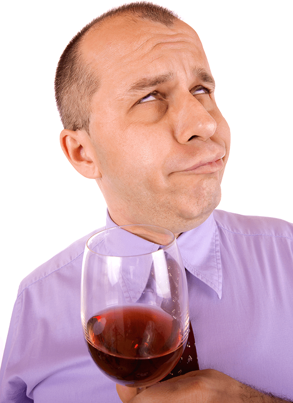 Person who increased alcohol in his wine kit