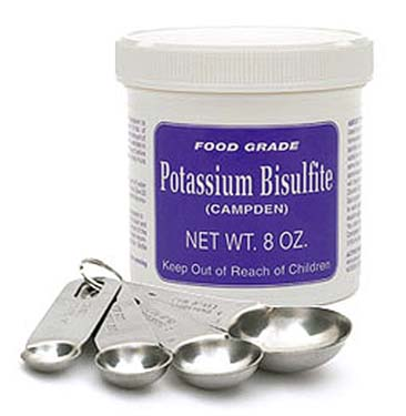 Potassium Metabisulfite That Is Old