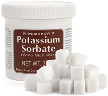 Potassium Sorbate With Sugar Cubes