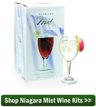 Shop Niagara Mist Fruit Blend Wine Kits