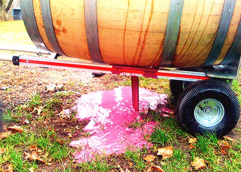 Time to start storing wine barrels