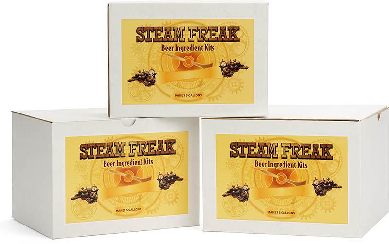 Steam Freak Beer Recipe Kits