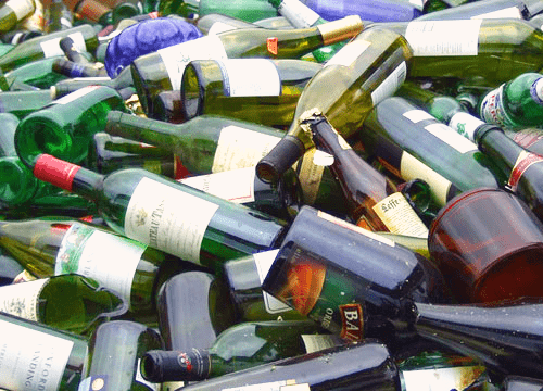 Used Wine Bottles