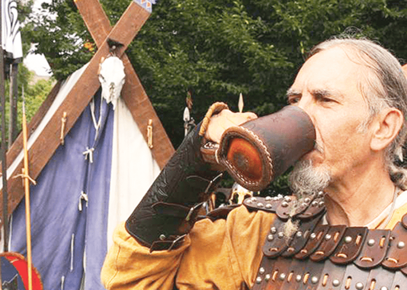 Viking Who's Learned How To Make Mead