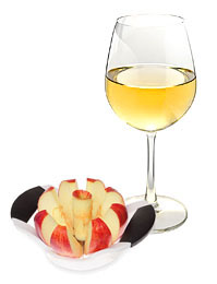 Sliced Apples For Making Wine Without A Press