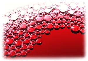 Gas Bubbles In Wine