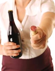 Cork Popping From Bottle