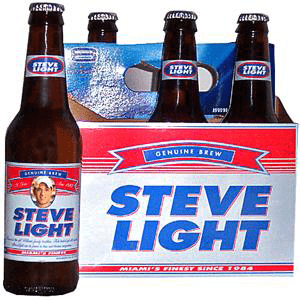 Labeling your beer bottles with personalized labels.