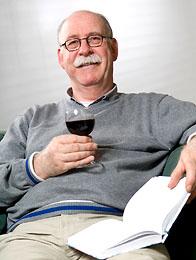 Man Drinking Homemade Wine