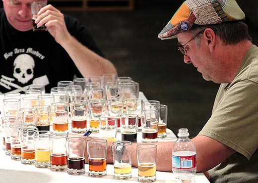 Two Men Testing for Diacetyl