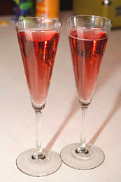 Homemade Sweet Sparkling Wine