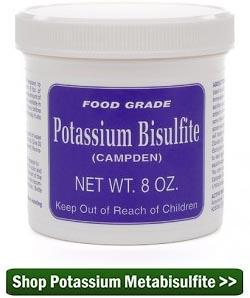 Buy Potassium Metabisulfite