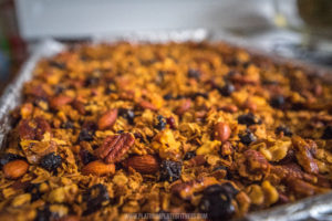 granola, baked, healthy, easy, how to, recipe, Denver, blogger, nuts, snack