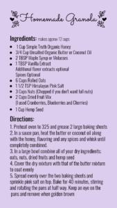 Homemade Granola, granola, make your own, blog, nutrition, Denver, breakfast, morning, meal prep
