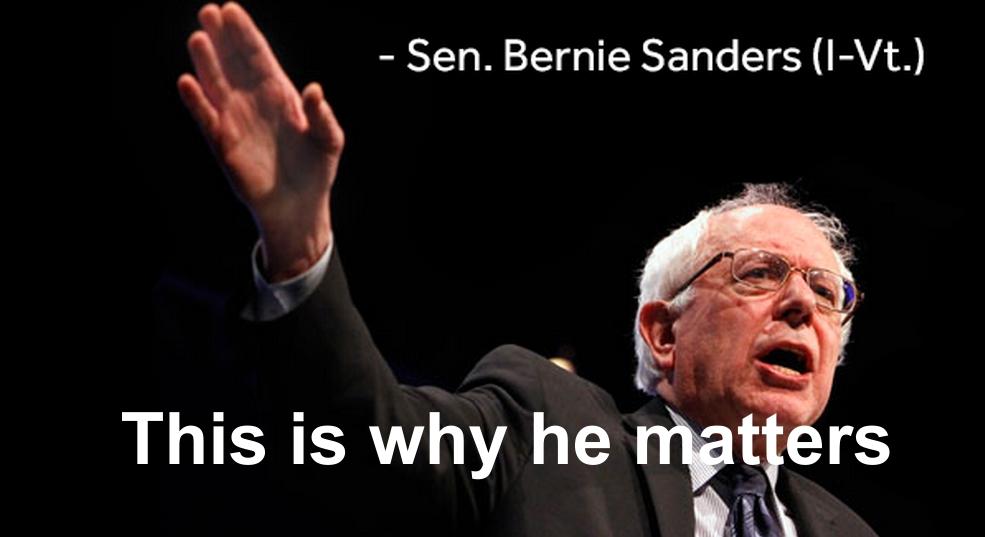 Bernie Sanders, Bryan Henry