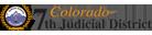 Colorado 7th Judicial District logo