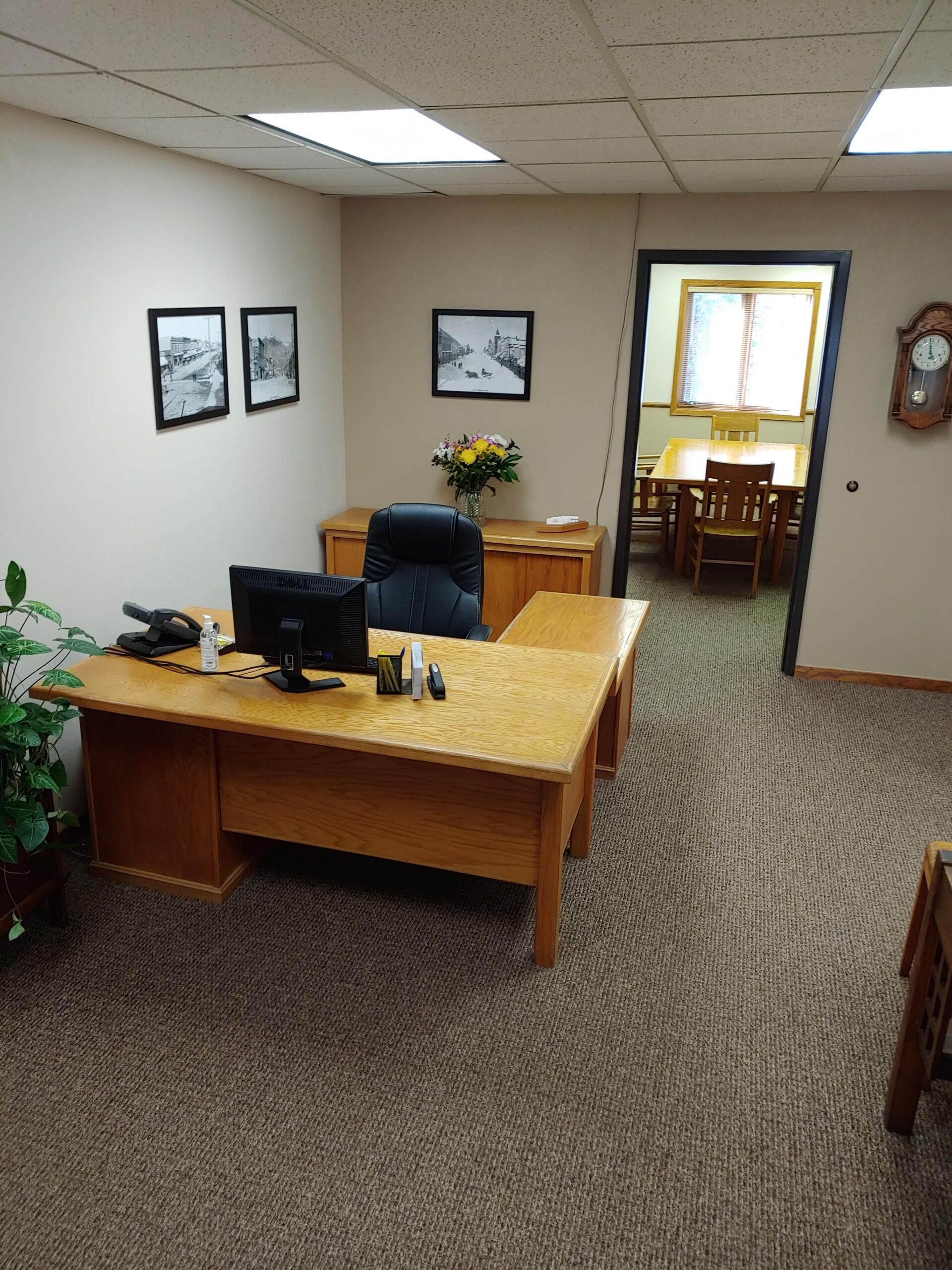 Martin Law Firm Reception Desk and Area