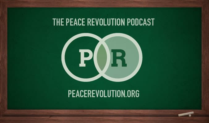 Peace Revolution episode 075: The Individual vs. The Collective (Just Say Know.)