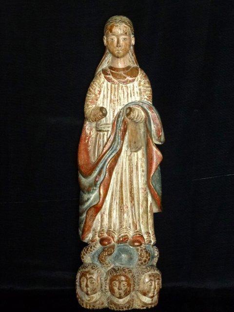 religious female saint