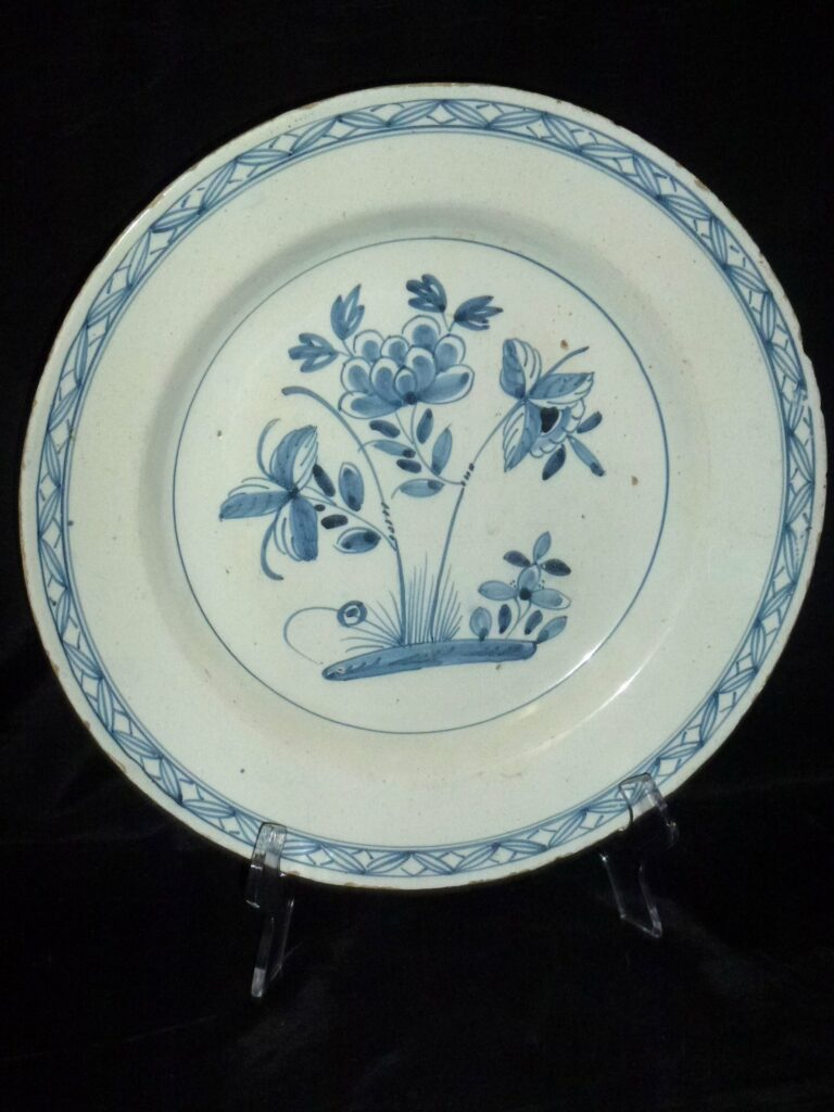 picture of delft plate