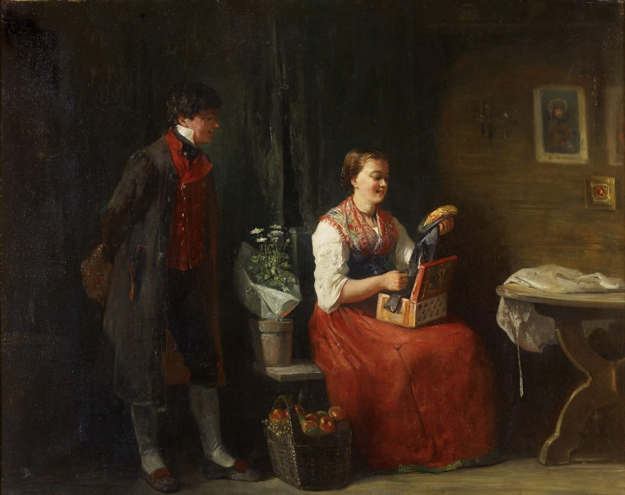 Jundt Gustave Les Fiancés