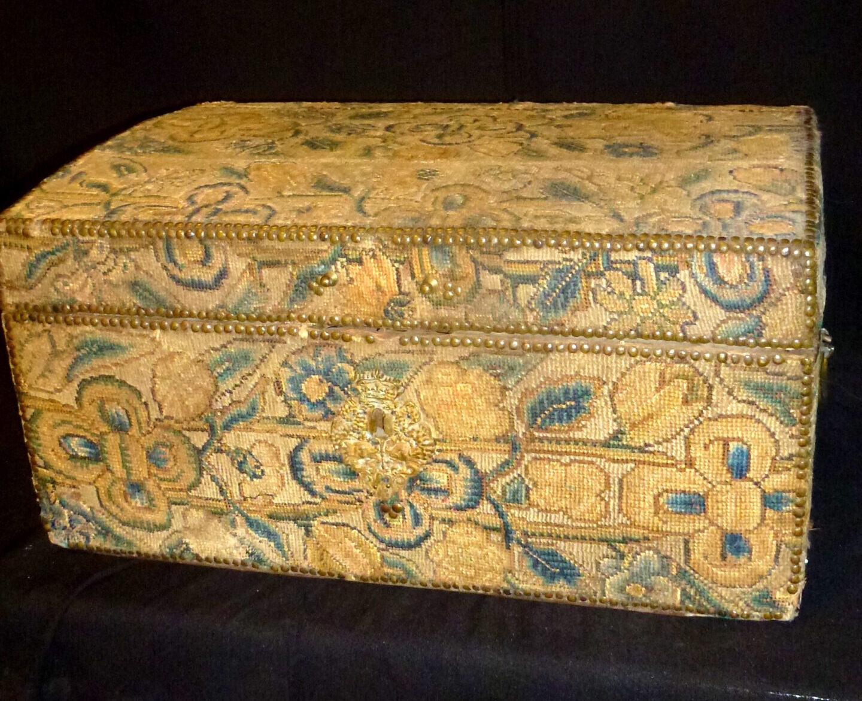 Antique brides box