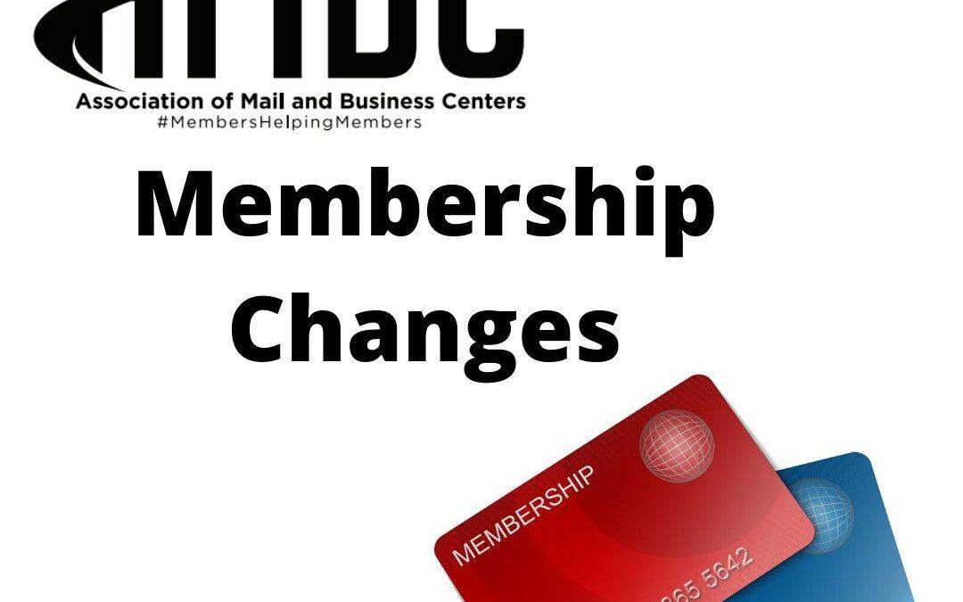 AMBC Membership Changes