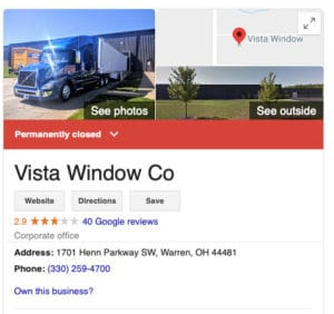 vista windows bankruptcy