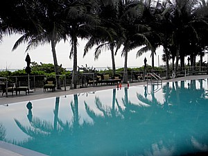 One of the stunning pools at Canyon Ranch Miami Beach © 2015 Karen Rubin/news-photos-features.com.