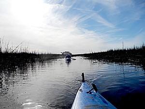 Kayaking at Eagle Island © 2015 Karen Rubin/news-photos-features.com