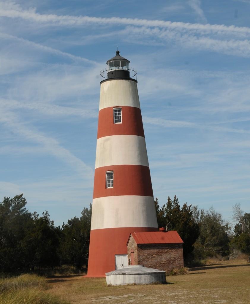 Sapelo Lighthouse © 2015 Karen Rubin/news-photos-features.com