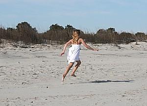 Beaches are a major lure to Sapelo Island © 2015 Karen Rubin/news-photos-features.com
