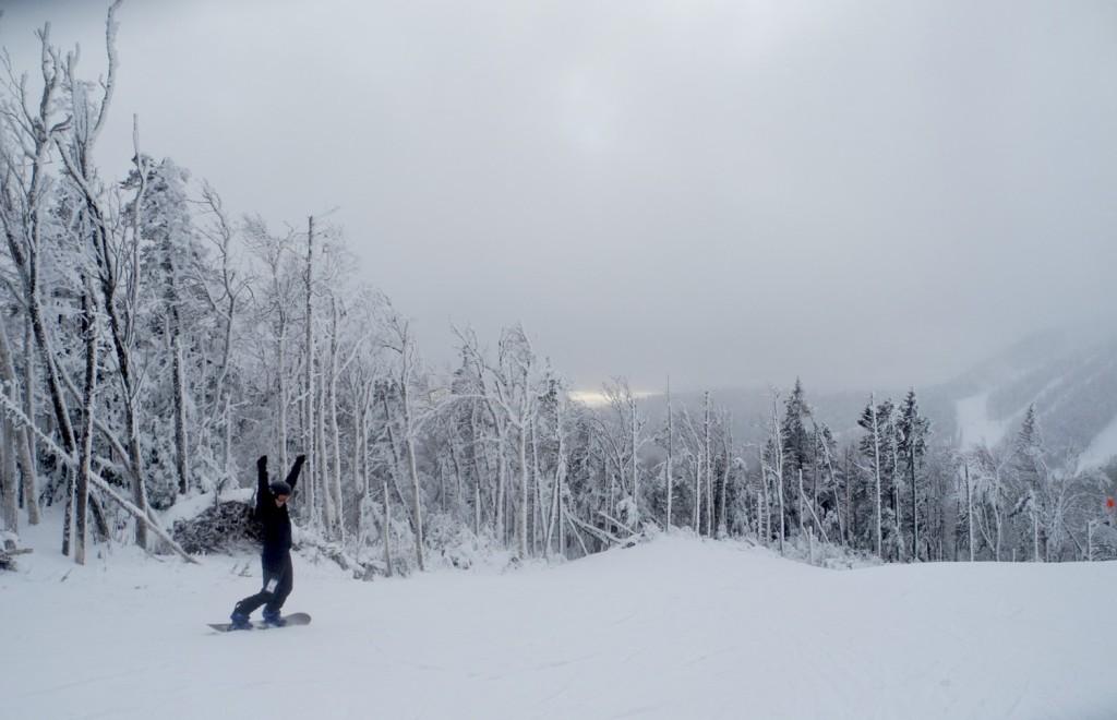 Gore Mountain offers tremendous variety of terrain, including long cruisers © 2015 Karen Rubin/news-photos-features.com