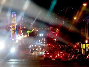 North Beach is a colorful neighborhood, especially at night.© 2015 Karen Rubin/news-photos-features.com
