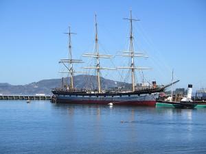 Visit the San Francisco Maritime National Historical Park's collection of floating historic ships. © 2015 Karen Rubin/news-photos-features.com \