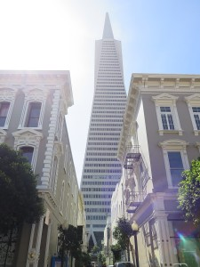 Old and new stand side by side in San Francisco © 2015 Karen Rubin/news-photos-features.com