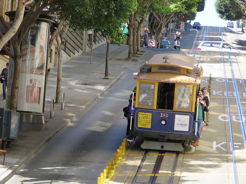 More than a sightseeing attraction for tourists, San Francisco's cable cars are intrinsic to what makes the city go © 2015 Karen Rubin/news-photos-features.com