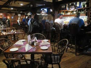 The Tavern at the Dan'l Webster Inn is an authentic replica of the two-centuries-old tap room where Daniel Webster made regular visits. It also served as the meeting place for local Patriots during the Revolution © 2016 Karen Rubin/news-photos-features.com