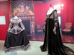 """""""CUT! Costume and the Cinema"""" on view at Heritage Museum & Gardens, Sandwich, features  43 costumes from the movies © 2016 Karen Rubin/news-photos-features.com"""